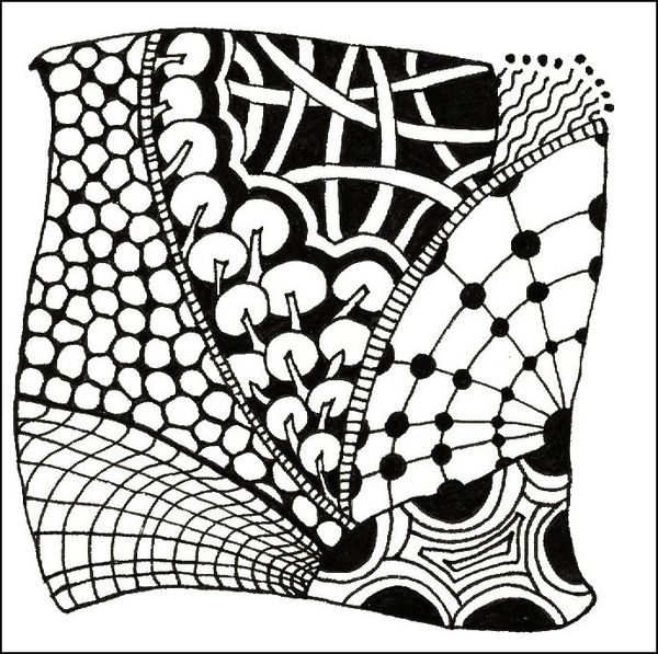 Tangle Tangle Tangle A Classic Zentangle