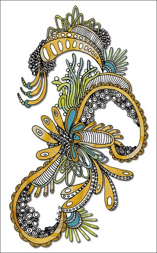 Sea Tangle color