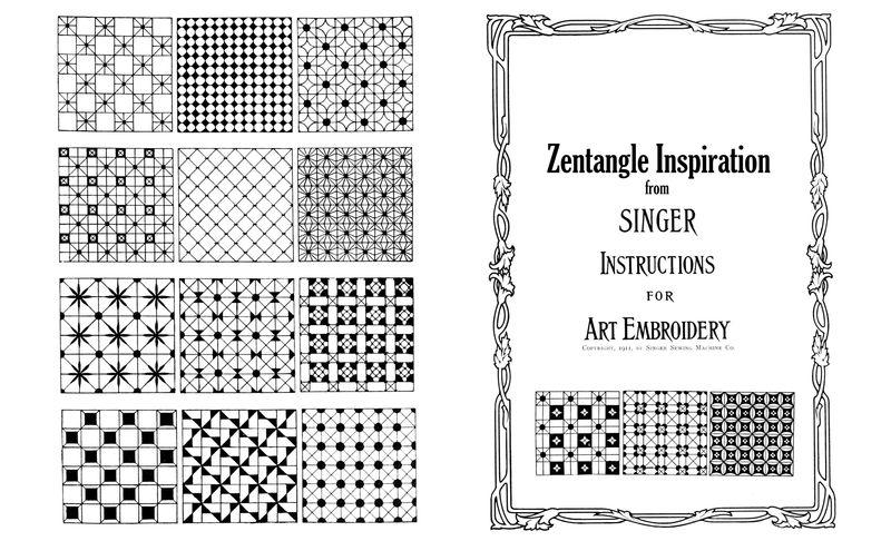 Zentangle booklet outside