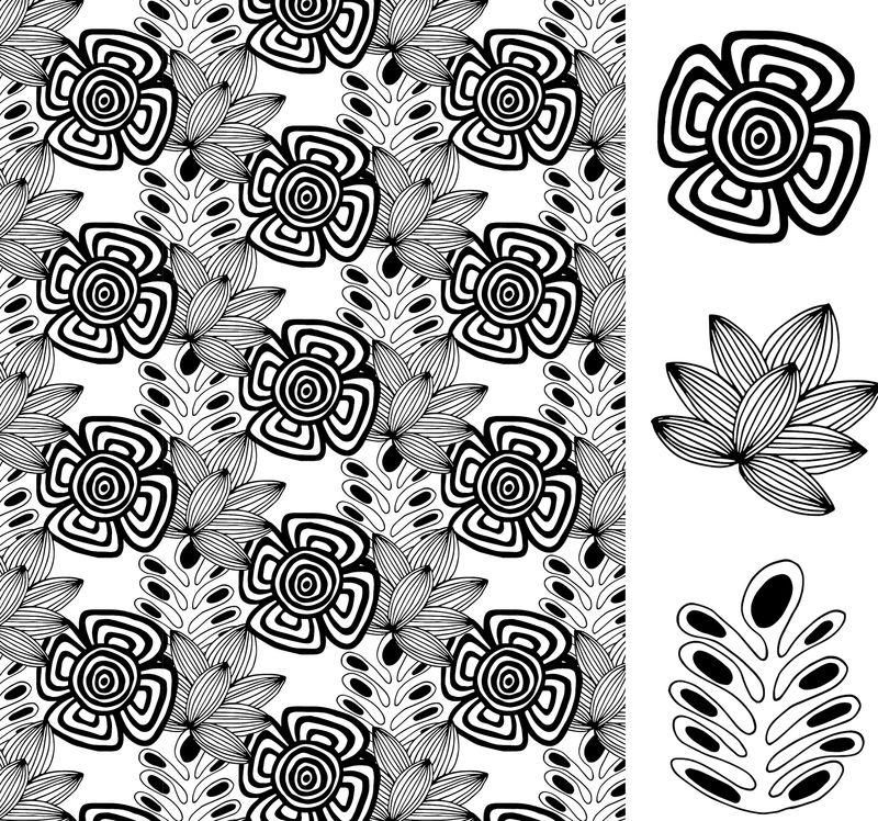 Tangled flowers 3