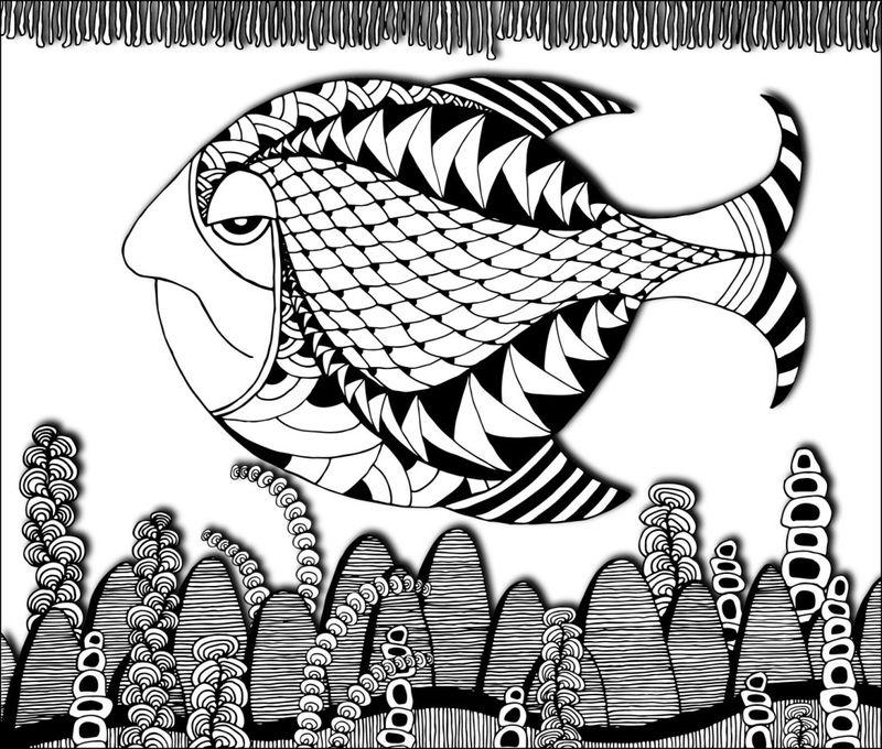 Grumpy Fish 50