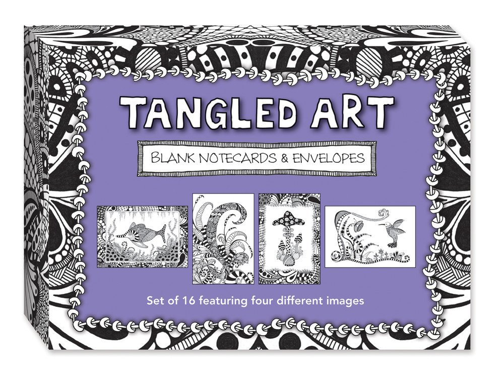 Tangled Notecards